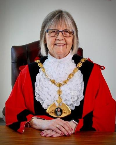 Cllr Rosie Sutton is Mayor for 2018-2019