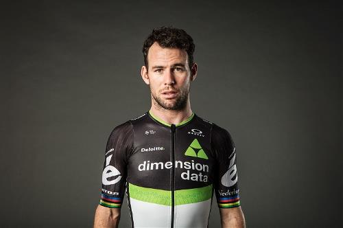 Star cyclist Mark Cavendish of Team Dimension data