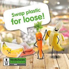 Swap bagged fruit and veg for loose