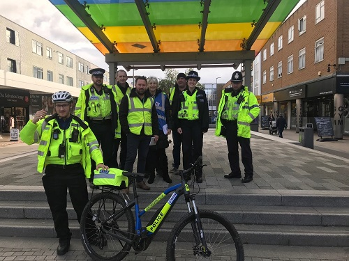 PSPO enforcement day in Marlowes