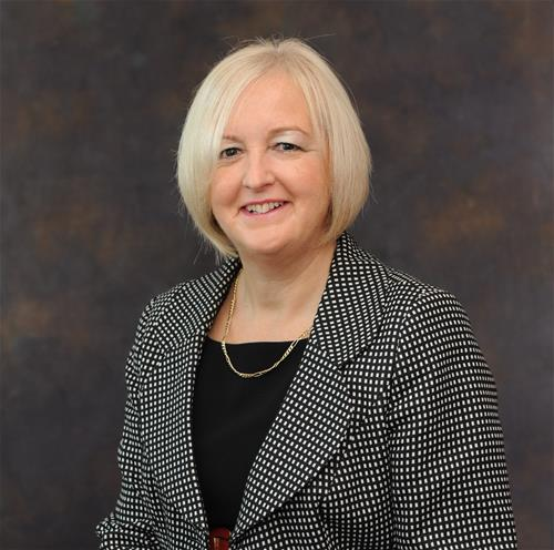 Sally Marshall, newly appointed Chief Executive