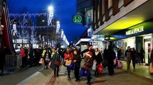 Christmas shopping in Hemel Hempstead