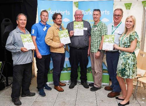 Council officers receive Green Flag awards