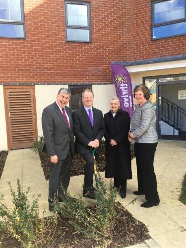 3ea1474b Our grant funding helps housing association open first new development